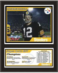 """Pittsburgh Steelers 12"""" x 15"""" Sublimated Plaque - Super Bowl XIV"""
