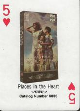 Places in the Heart RARE 1988 CBS Fox Promotional Playing Card Sally Field