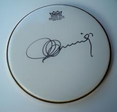 Placido Domingo Autographed 10inch Drumhead UACC RD COA AFTAL