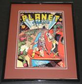 Planet Comics #1 Will Eisner Framed Cover Photo Poster 11x14 Official Repro