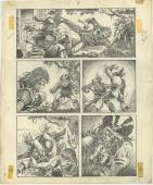 "Planet Of The Apes #8 Comic Art Page #13 Artist Mike Ploog 11.5 "" X 16.5""."