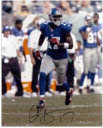 Plaxico Burress Autographed Picture - 16x20 Mounted Memories