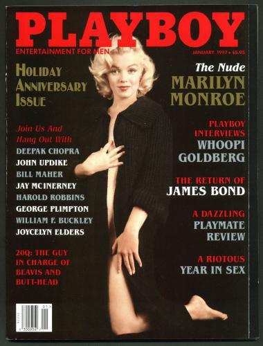 Playboy Magazine January 1997 Holiday Anniv. Issue w/ Marilyn Monroe Unsigned