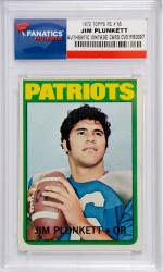 Jim Plunkett New England Patriots 1972 Topps #65 Rookie Card
