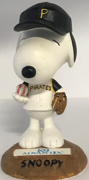 2004 Snoopy Pittsburgh Pirates Limited Edition Bobble Head