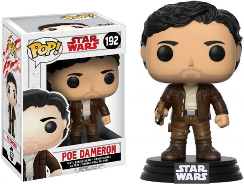 Poe Dameron Star Wars The Last Jedi #192 Funko Pop!