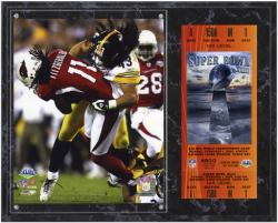 Pittsburgh Steelers Super Bowl XLIII Troy Polamalu Plaque with Replica Ticket - Mounted Memories