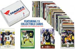 Troy Polamalu Pittsburgh Steelers Collectible Lot of 15 NFL Trading Cards - Mounted Memories