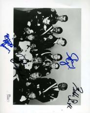 Police Academy Jsa Coa Hand Signed By4 8x10 Photo Authenticated Autograph