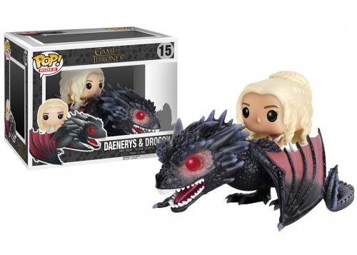 Pop! Rides Game of Thrones Daenerys & Drogon #15 In-Box Action Figure