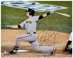 "Buster Posey San Francisco Giants 2012 World Series Champions Autographed 16"" x 20"" Photograph"