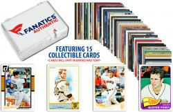 Buster Posey-San Francisco Giants-Collectible Lot of 15 MLB Trading Cards - Mounted Memories