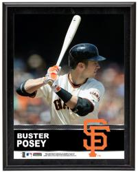 "Buster Posey San Francisco Giants Sublimated 10.5"" x 13"" Plaque"