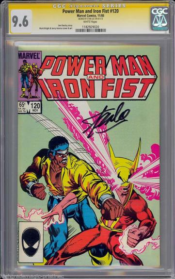 Power Man & Iron Fist #120 Cgc 9.6 W Ss Stan Lee Highest Graded Cgc #1182929020
