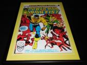 Power Man & Iron Fist #50 Framed 12x18 Cover Poster Display Official RP