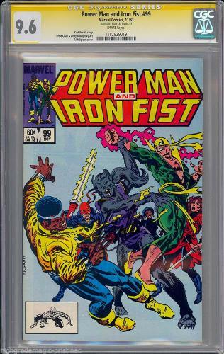 Power Man & Iron Fist #99 Cgc 9.6 Ss Stan Lee Single Highest Graded #1182929019