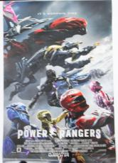 POWER RANGERS 2017 Double Sided Final Theater 27x40 Original Movie Poster