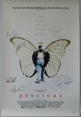 Precious Multi-Signed 27x40 Movie Poster Oprah Winfrey, Mariah Carey +4 PSA/DNA