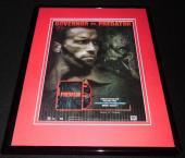 Predator 2004 Framed 11x14 ORIGINAL Advertisement Governor Arnold Schwarzenegger