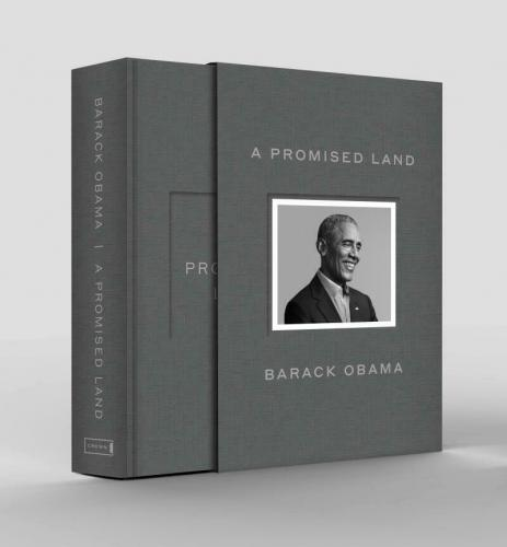President Barack Obama Hand Signed A Promised Land Deluxe Edition Very Rare Book
