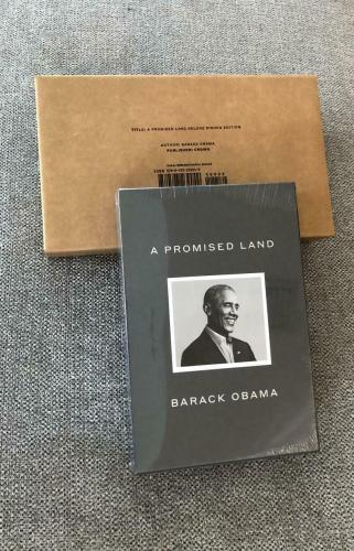President Barack Obama Signed Autograph A Promised Land Book Deluxe Signed Edit