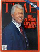 President Bill Clinton Signed 2004 Time Magazine PSA/DNA #B93551