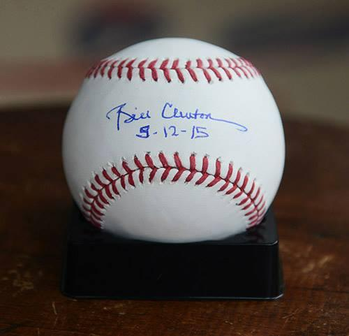 President Bill Clinton Autographed Signed ROMLB w Exact Proof UACC RD AFTAL