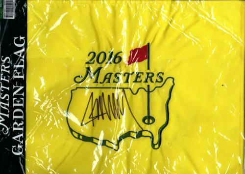 President Donald Trump Autographed 2016 Masters Garden Bag AFTAL UACC RD COA