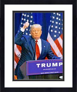 President Donald Trump Signed 11x14 Photo - James Spence JSA COA