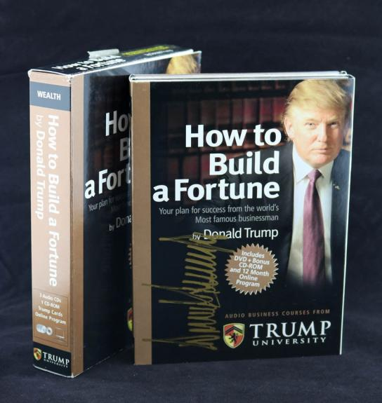 President Donald Trump SIGNED How To Build a Fortune LETTER PSA/DNA AUTOGRAPHED