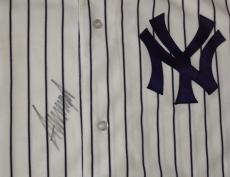 PRESIDENT DONALD TRUMP Signed NY YANKEES Authentic JERSEY w/ PSA DNA