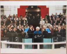 President George H.W. Bush Signed 16x20 Photo - PSA DNA