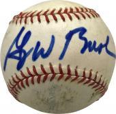 President George W Bush Signed Autographed OAL Baseball Full Name JSA