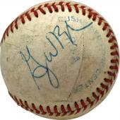 President George W. Bush Signed Autographed OAL Baseball JSA Authentic