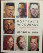 President George W Bush Signed Book Portraits of Courage - Beckett BAS