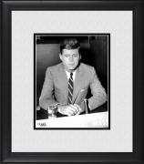 "President John F. Kennedy Framed 8"" x 10"" in Chair Portrait Photograph"