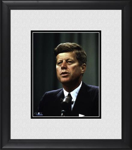 "President John F. Kennedy Framed 8"" x 10"" Photograph"