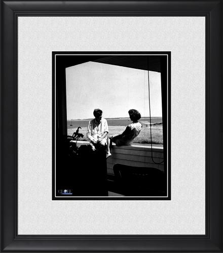 "President John F. Kennedy Framed 8"" x 10"" with Jackie Kennedy Photograph"