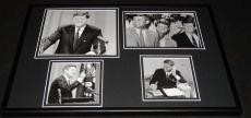 President John F Kennedy JFK  Framed 12x18 Photo Collage