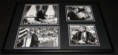 President John F Kennedy JFK  Framed 12x18 Photo Collage B