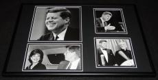 President John F Kennedy JFK  Framed 12x18 Photo Collage C
