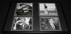 President John F Kennedy JFK  Framed 12x18 Photo Collage D
