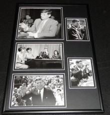 President John F Kennedy JFK Framed 12x18 Photo Collage E