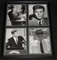 President John F Kennedy JFK  Framed 18x24 Photo Collage