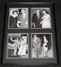 President John F Kennedy JFK  Framed 18x24 Photo Collage w/ Jackie O