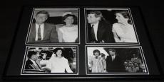 President John F Kennedy JFK & Jackie O Framed 12x18 Photo Collage