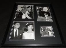 President John F Kennedy JFK w/ Jackie O & Family Framed 16x20 Photo Collage