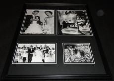 President John F Kennedy JFK Wedding Framed 16x20 Photo Collage