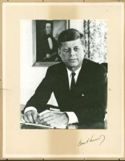 President John F. Kennedy Signed Autographed 11x13 Photograph PSA/DNA Authentic