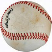 President Richard Nixon Signed Autographed ONL Baseball PSA/DNA Authentic